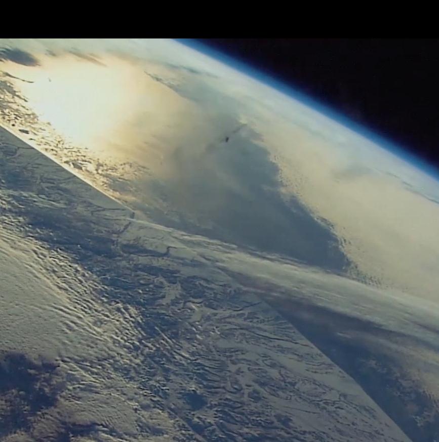 aarde sateliet ruimte