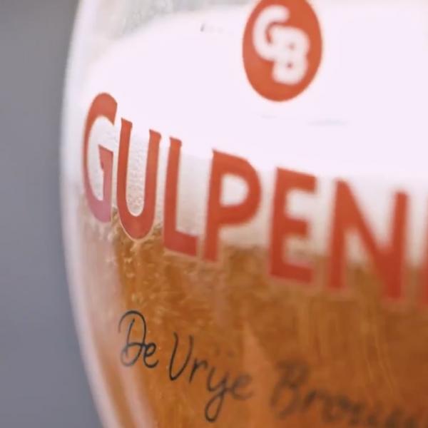 bedrijfsfilm gulpener bier glas