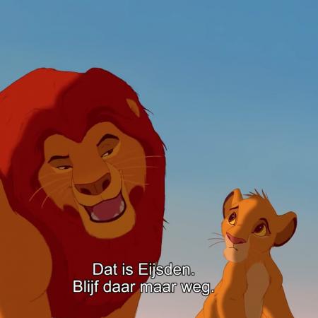 Lion King maastrichts Eijsden viral